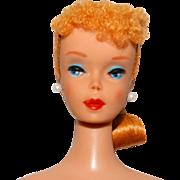 Vintage Blonde #4 Ponytail Barbie Doll