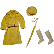 Vintage Skipper Complete Rain Or Shine Outfit