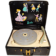 Vintage Barbie 1962 Vanity Fair Vinyl Record Player