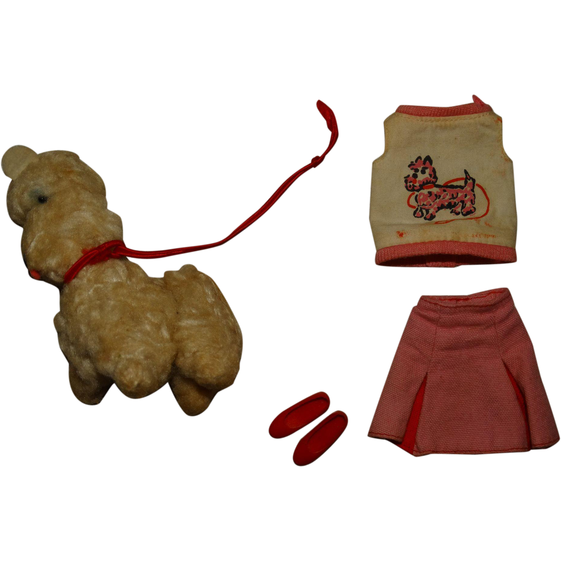 Vintage Skipper 99% Complete Dog Show Outfit