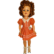 """Ideal Vintage 1950s Shirley Temple 17"""" Flirty Eyed Doll"""