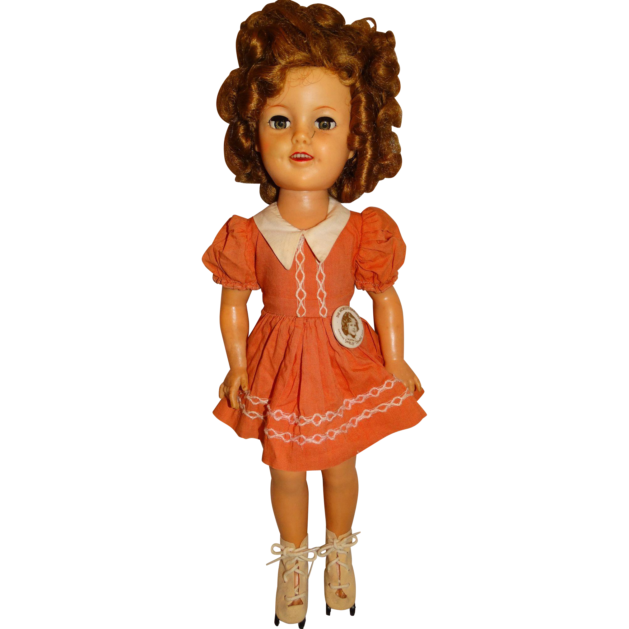 Ideal Vintage 1950s Shirley Temple 17 Quot Flirty Eyed Doll