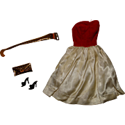 Vintage Barbie Complete Silk