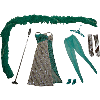 Vintage Barbie Complete Silver Serenade Outfit