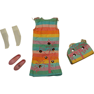 Vintage Skipper Complete Sunny Pastels Outfit