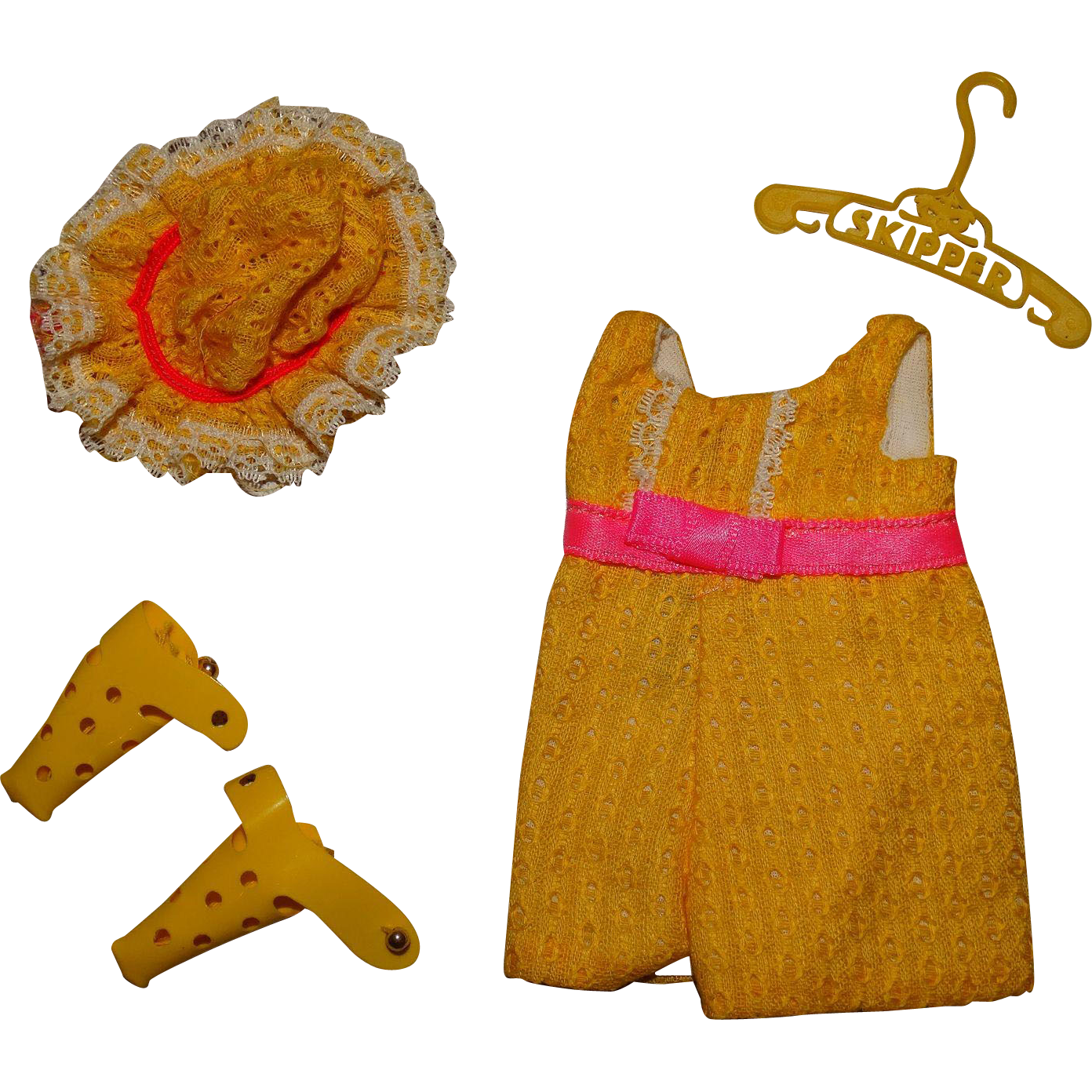 Vintage Skipper Complete Sunny Suity Outfit