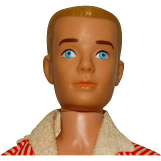 Vintage Blonde Straight Leg Ken Doll