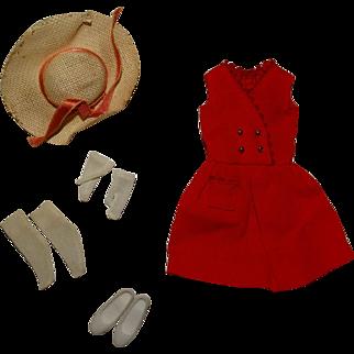 Vintage Skipper Complete Red Sensation Outfit