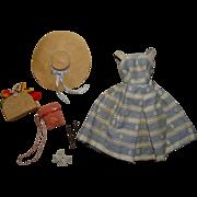 Vintage Barbie Complete Suburban Shopper Outfit