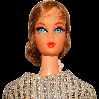 Vintage Barbie Brownette Nape Curl Talking Barbie Doll