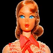 Vintage Redhead Nape Curl Talking Barbie Doll