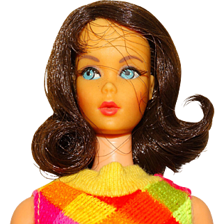 Vintage Brunette Marlo Flip Twist & Turn Barbie Doll