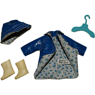 Vintage Tutti Complete Puddle Jumpers Outfit