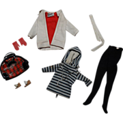 Vintage Barbie Complete Winter Holiday Outfit