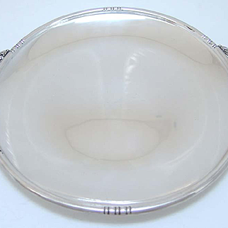 William Dematteo stelring silver tray Arts and crafts