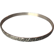 Beautiful Danecraft Felch co bangle Sterling