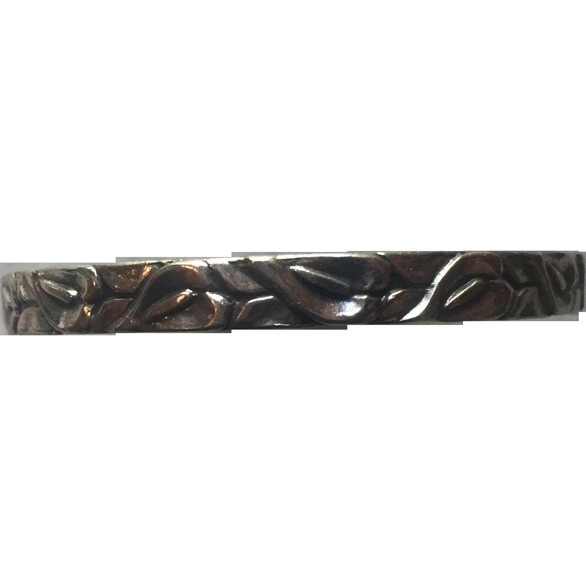 Danecraft Calla lily bangle, bracelet, sterling silver