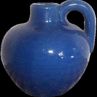 Yellowware small pottery jug.