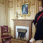 Ormolu Doll House Fireplace Fender