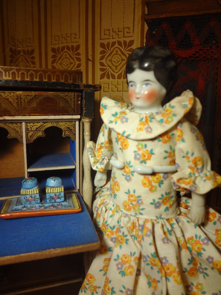 German China Doll House Doll