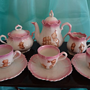 Kewpie Porcelain Tea Set from Germany