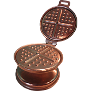 Miniature Waffle Iron by Dover , USA