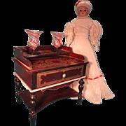 Doll House Biedermeier Dresssing Table with Boule