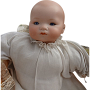 "Small 11"" Armand Marseilles Baby with Sleep Eyes"