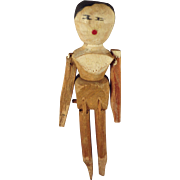 Early Peg Wooden in Small Size