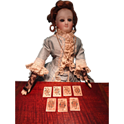 Group of Playing Cards on Bone for French Fashions