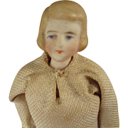 Doll House Lady with Molded Hair and Painted Features