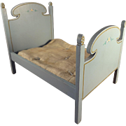 Blue Tynietoy Bed With Mattress
