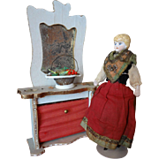 French Doll House Fireplace for Parlor
