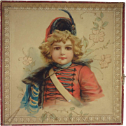 Fabulous French Presentation Box with Child on Top