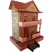 Bliss Doll House with Two Rooms and Front Porch