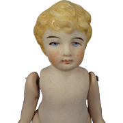 """4 1/2"""" All Bisque Jointed German Child"""