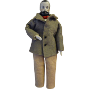 """Doll House Man with Moustache 6"""""""