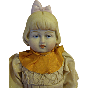 """All Bisque Girl 8 1/2"""" tall with Bootine Boots"""