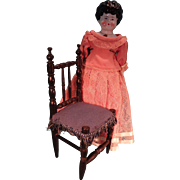 China Doll with Faux Jewel Inset Lovely Dress
