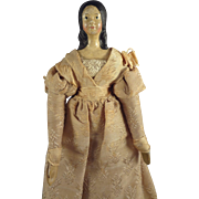 Early Papier Mache Millner's Model in Petite Size