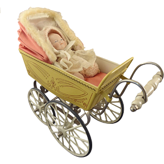 Marklin Doll Stroller Pram Carriage