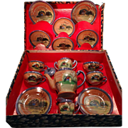 Pussy Willow Tea Set in Original Box