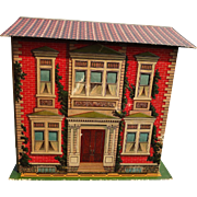 McLoughlin Two Story Folding Doll House with Formal Garden