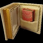 Antique Miniature Book in a Book