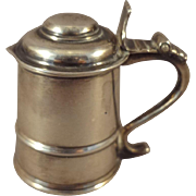 Miniature Sterling Silver Tankard from Shirley Temple Black Personal Collection