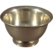 Miniature Sterling Silver Bowl from Shirley Temple Black Personal Collection