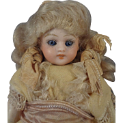 "5"" Bisque Simon & Halbig with Sleep Eyes and Swivel Head for Doll House"
