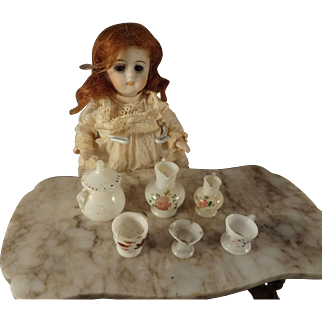 Group of Miniature Bristol Glass for Doll House