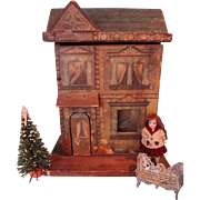 Petite Bliss Litho Doll House Two Room