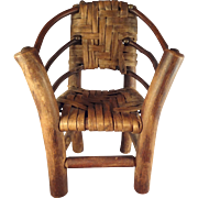Doll Size Adirondack Chair Miniature